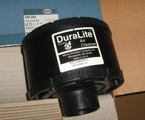 Фильтр воздушный, элемент / AIR FILTER АРТ: 160-252
