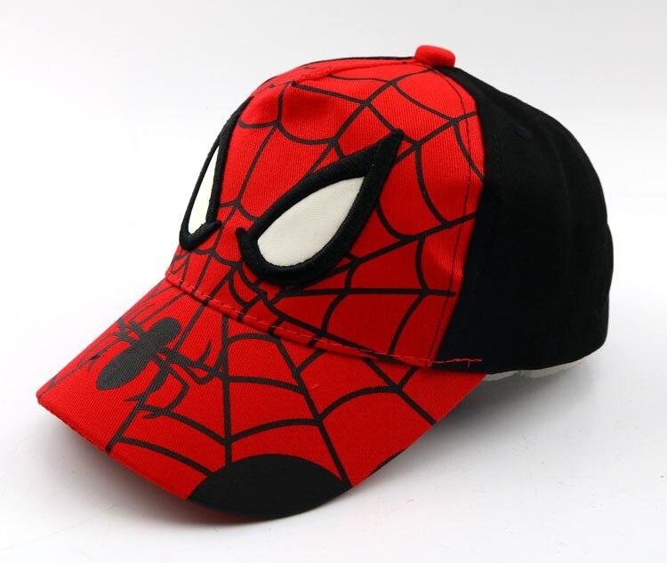 Бейсболка детская Новый Человек паук в ассортименте