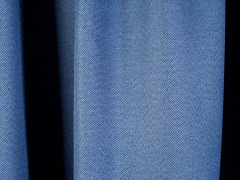 Блэкаут рогожка для штор голубая. Ш-280 см. Арт. 818-31