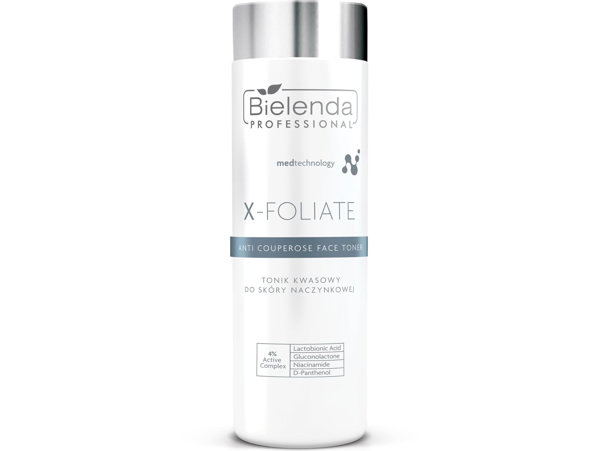 X-FOLIATE Anti Couperose Кислотный тоник для кожи с куперозом