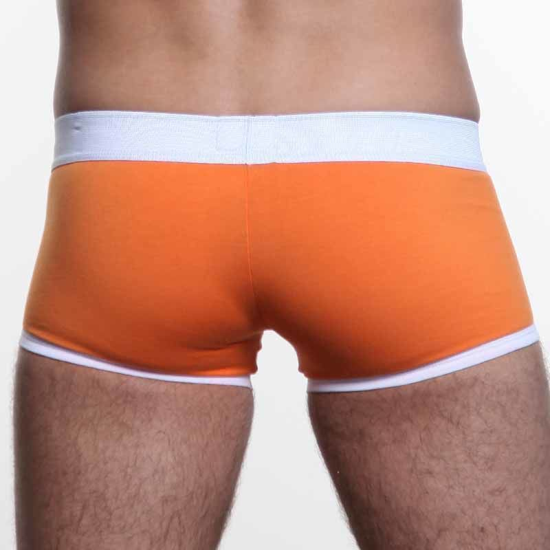 Мужские трусы боксеры оранжевые Diesel Orange Boxer