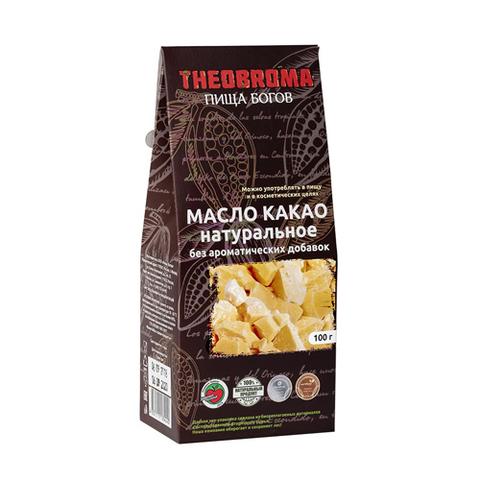 Какао-масло, натуральное, 100 гр. (Пища богов)