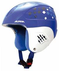 Шлем горнолыжный Alpina CARAT blue-diamonds