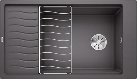 Кухонная мойка Blanco ELON XL 8 S, темная скала