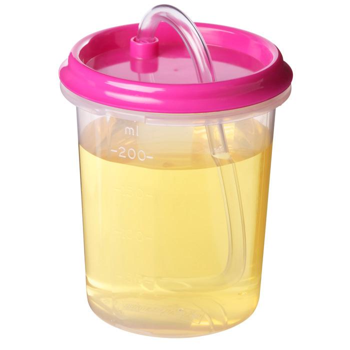 "Бутылочка-поильник с трубочкой Sistema""Hydrate"" 250 мл, цвет Розовый"