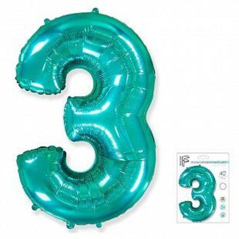 Цифра три - тиффани