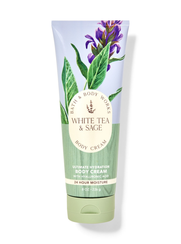 Крем для тела Bath&BodyWorks White Tea and Sage 226 гр