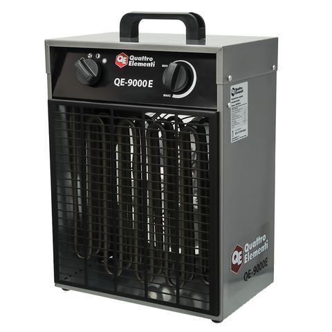Нагреватель воздуха электрический QUATTRO ELEMENTI QE-9000 E  (6 / 9кВт, 380В-3ф, 820 м3/ч (248-566), шт