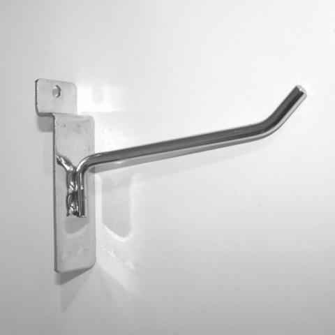 Крючок для экономпанели 150 мм d.4 mm  хром, ЭП 291/4