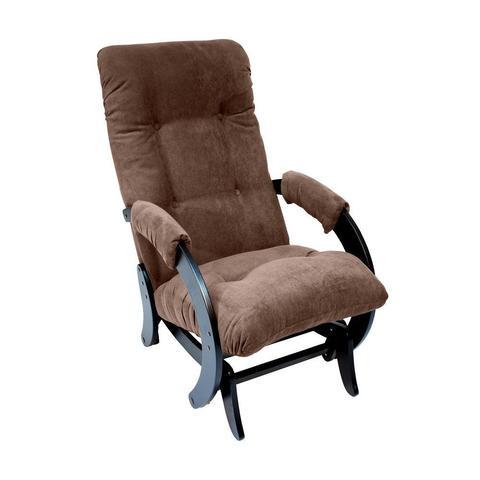 Кресло-глайдер МИ Модель 68, венге, ткань Verona brown