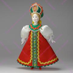 Кукла в Крестьянка в сарафане