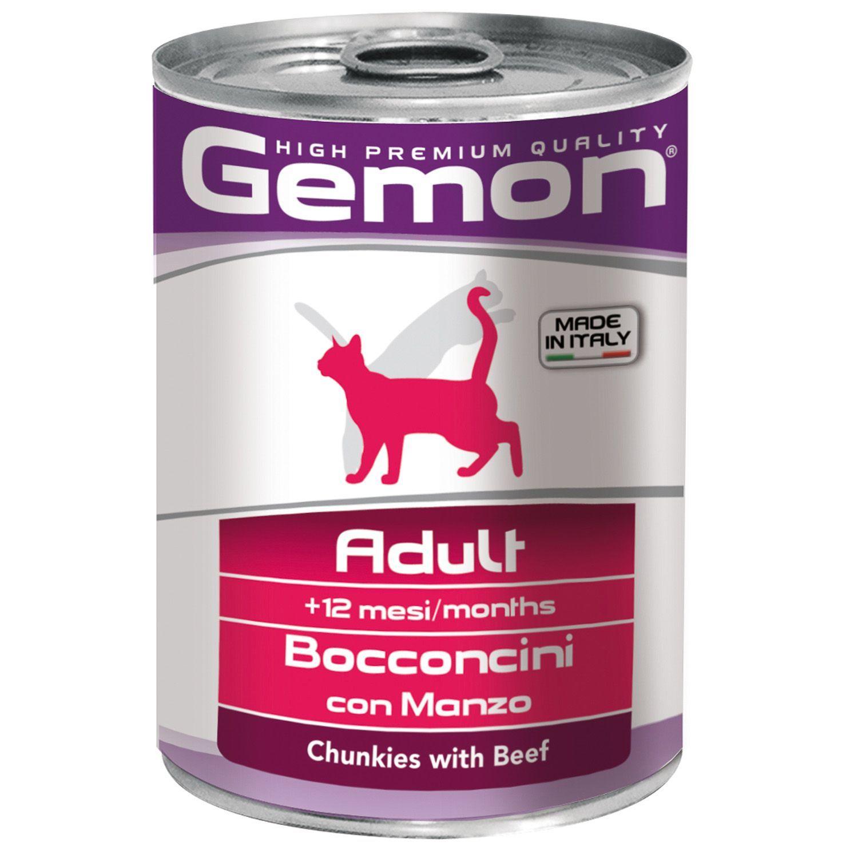 Gemon Консервы для кошек Gemon Cat кусочки говядины 70300704_1.jpeg