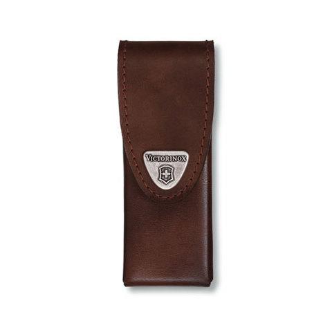 Чехол кожаный Victorinox, коричневый для Swiss Tools Spirit