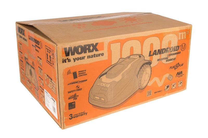 Роботизированная газонокосилка Worx Landroid M1000 WG796E 1000м2