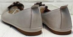 Классические женские туфли без каблука Wollen G036-1-1545-297 Vision.