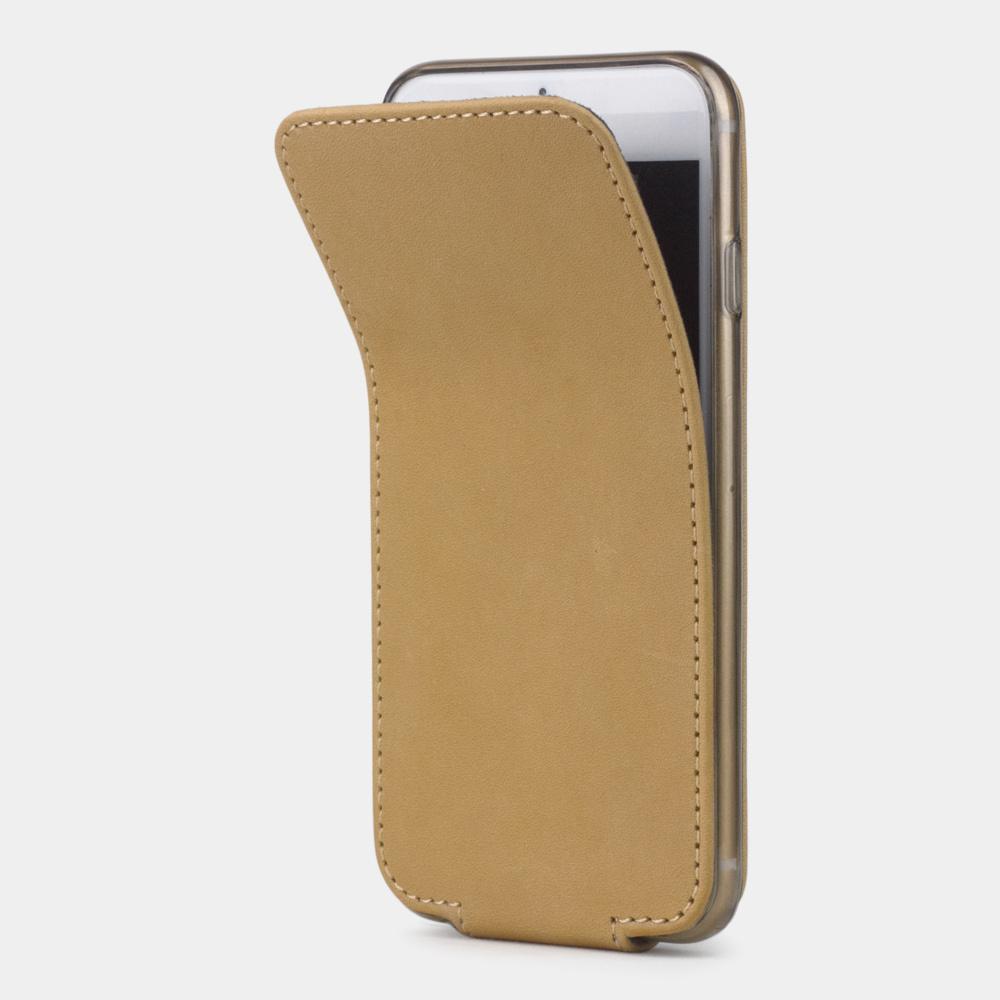 Чехол для iPhone 6/6S из натуральной кожи теленка, натурального цвета