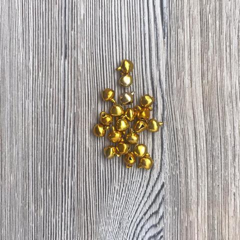 051-5304 Бубенчики 6 мм, золото