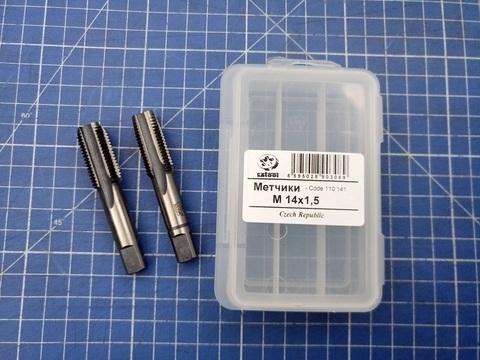 Метчик М14х1,5 (комплект 2шт) CSN223010 2N CS(115CrV3) Bucovice(CzTool) 110141
