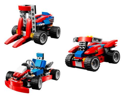 LEGO Creator: Красный гоночный карт 31030 — Red Go-Kart — Лего Креатор Создатель