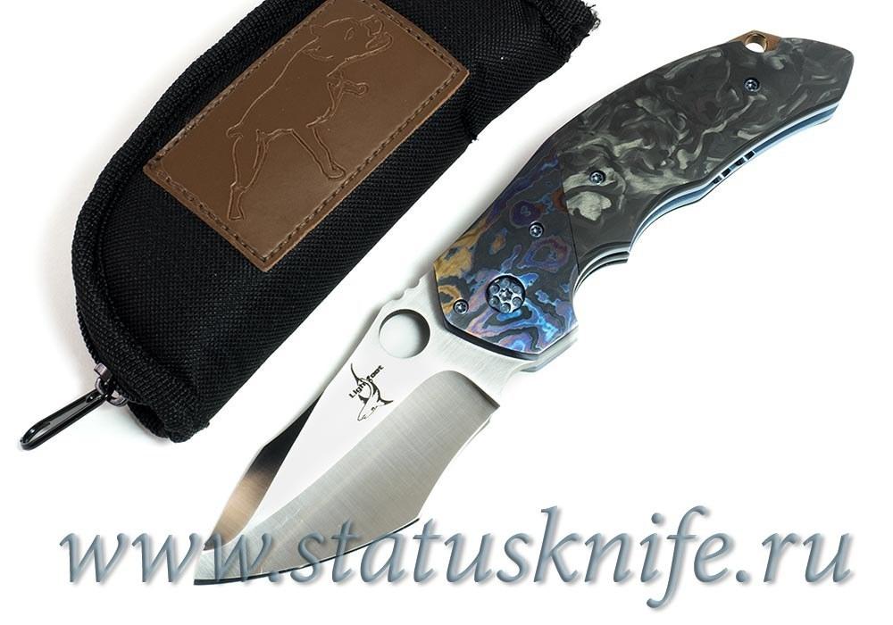 Нож Lightfoot Icon with Mokuti and Carbon - фотография