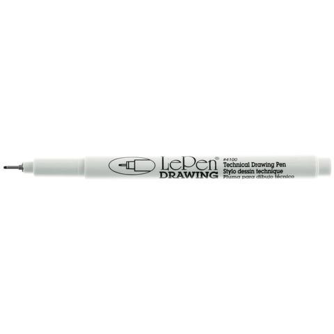 Пигментированная чернильная ручка 0,8 мм/ Le Pen Technical Drawing Open Stock- Black