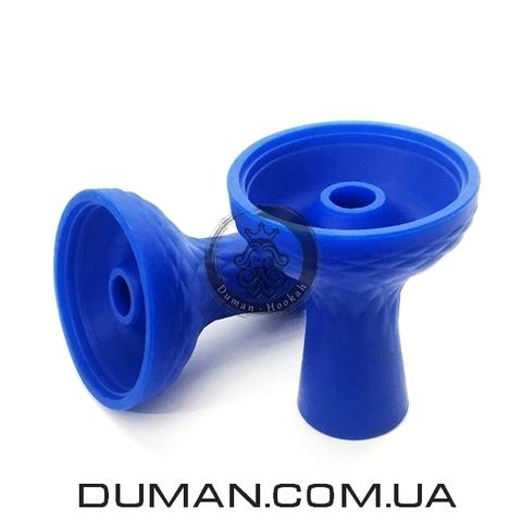 Силиконовая чаша для кальяна Phunnel (Фаннел)  |Синяя