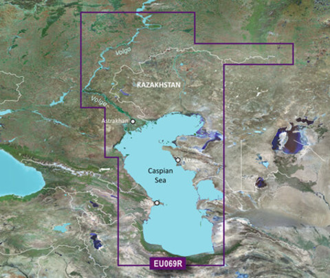 Карта GARMIN КАСПИЙСКОЕ МОРЕ, УЛЬЯНОВСК, ОРСК g3 HXEU069R