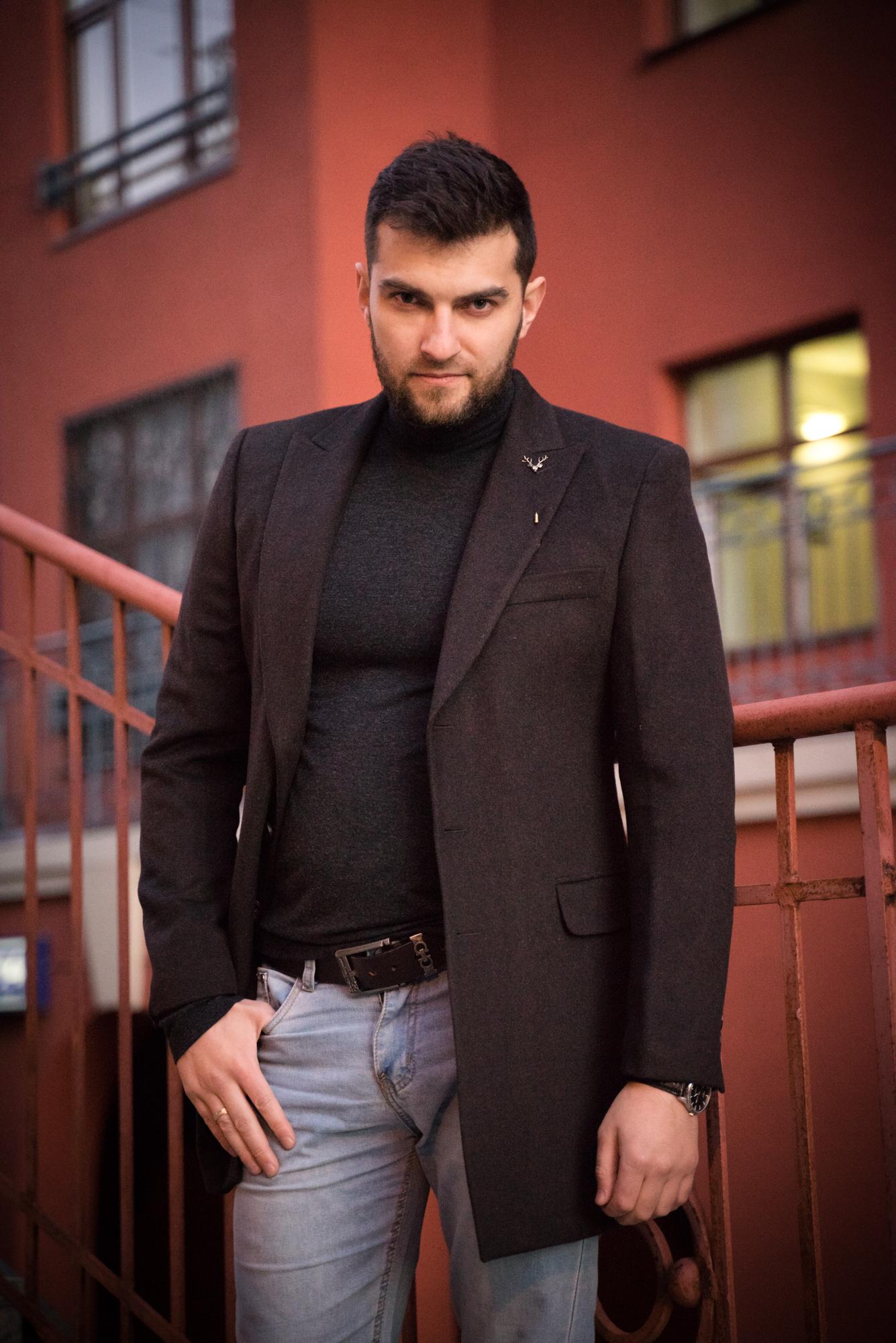 Пальто мужское оптом Пальто мужское Slim Fit 11/137 DSC09595.JPG