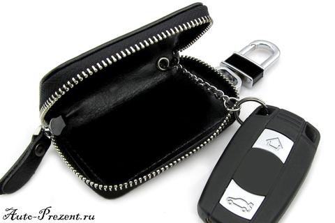 Кожаный чехол для ключа с логотипом Infiniti