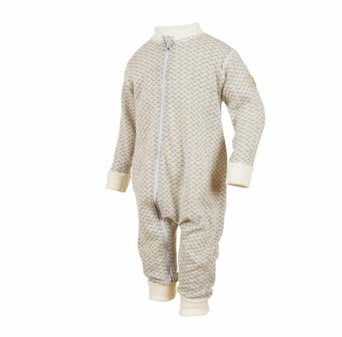 Janus, Комбинезон на молнии Baby wool, бежевый