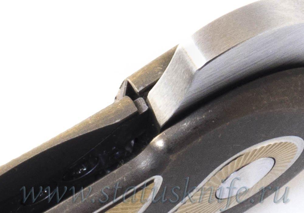 Нож Todd Begg Field Marshall Gold S35VN - фотография