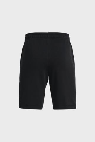 Детские черные шорты UA RIVAL TERRY BL SHORTS-BLK Under Armour