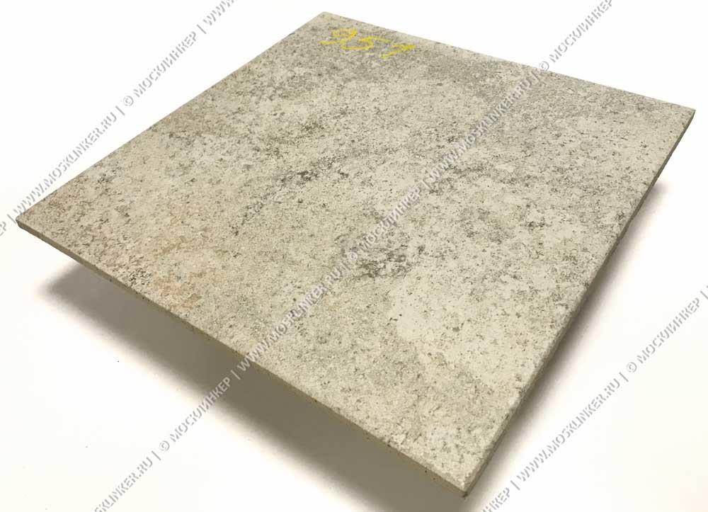 Stroeher - Keraplatte Epos 951 krios 294х294х10 артикул 8031 - Клинкерная напольная плитка