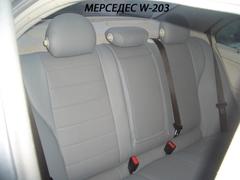 Чехлы на Mercedes-Benz C-klasse W203 2000–2007 г.в.