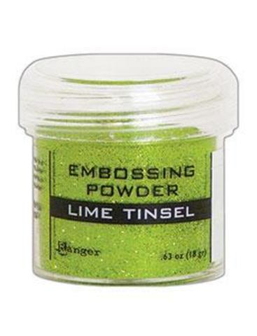 Пудра для эмбоссинга Ranger Ink- LIME TINSEL