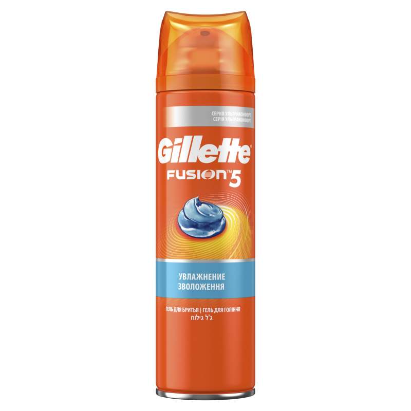 Гель для бритья Gillette Fusion Увлажняющий 200 мл