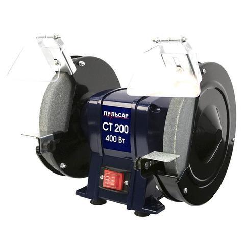 Станок точило ПУЛЬСАР СТ 200 (400Вт, диск 200x20x16мм 2950 об/мин, 8,6 кг) (791-363)