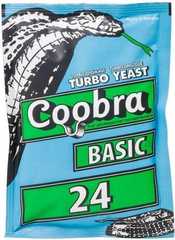 Дрожжи спиртовые Coobra Turbo 24 Basic