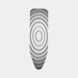 Чехол PerfectFit 124х45 см (C), 2 мм поролона, Титановые круги, артикул 132568, производитель - Brabantia