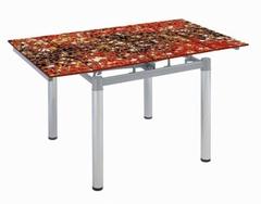 Стол обеденный В-179 арт-3 красный