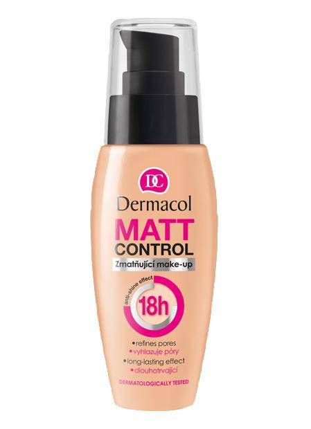 Dermacol Matt Control Make-Up Матирующий водостойкий тональный крем, 30мл