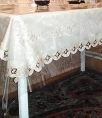 Скатерть прозрачная на стол 140 см х 200 см