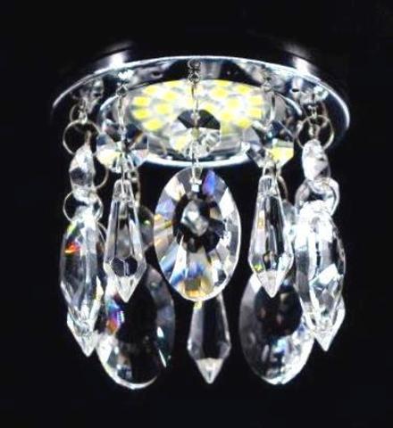 Встраиваемый светильник 3214-2RG Золото