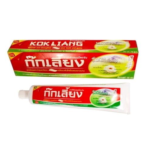 Травяная зубная паста KOKLIANG, 160 гр. Таиланд
