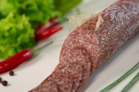 Проницаемая оболочка для сырокопченых и сыровяленных колбас Айцел (45мм) - 10м