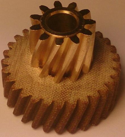 Двойное зубчатое колесо Liscop