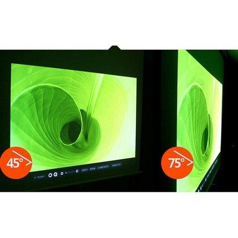 Рулонный подвесной экран для проектора Ardax 152x84 см. (70