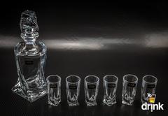 Набор для водки и ликера из 7 предметов «Quadro», фото 4
