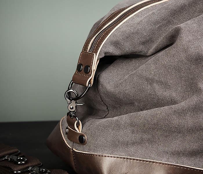 BAG478-3 Мужская сумка саквояж для поездок фото 03