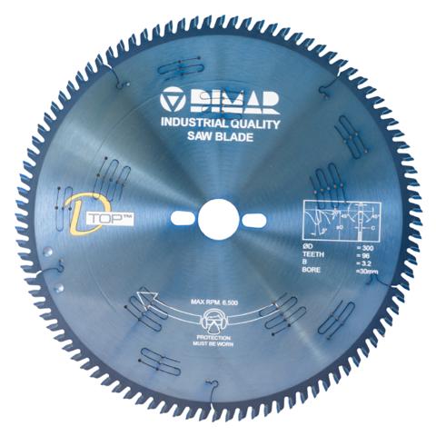 Пильный диск DIMAR для ЛДСП усиленный бесшумный 95406256 300x30x3.2/2.2x96 DSQ